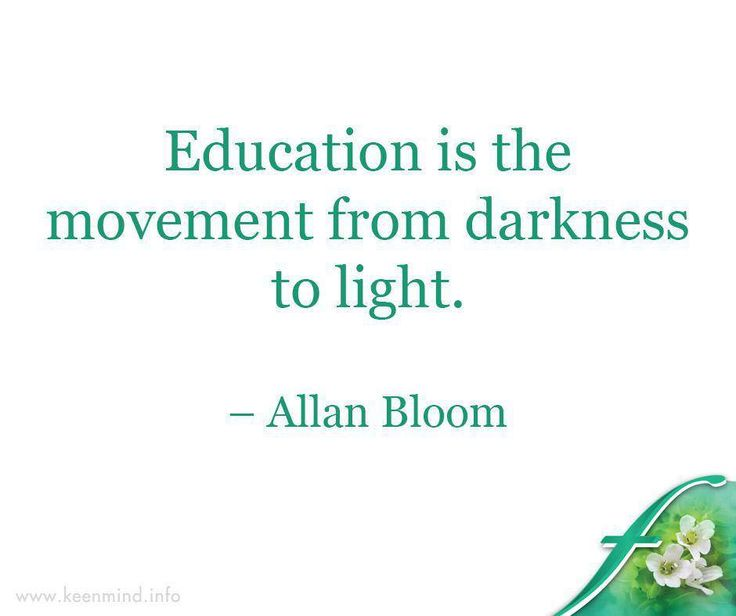 Education is the movement from darkness to light. – Allan Bloom #Flordis #KeenMind #SundayMotivation