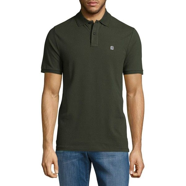 G-Star RAW Dunda Solid Polo Shirt ($45) ❤ liked on Polyvore featuring men's fashion, men's clothing, men's shirts, men's polos, men's spread collar dress shirts, mens short sleeve polo shirts, mens polo shirts, mens dark blue shirt and mens short sleeve shirts