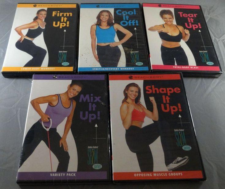 Lot of 5 Beach Body Debbie Siebers Slim Series DVDs NEW SEALED #Beachbody