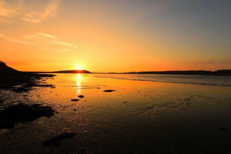 Sunset Rusheen Bay