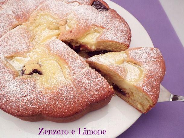 TORTA NUA | ricetta imperdibile procedimento Bimby - Zenzero e Limone