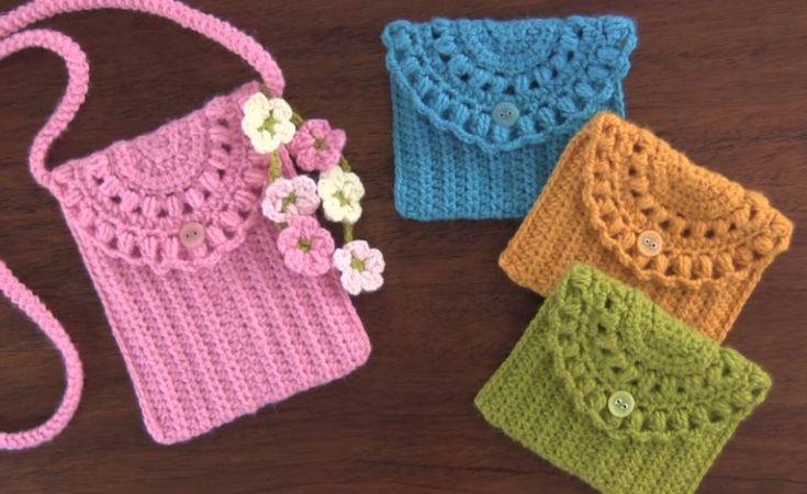 Crochet Beautiful Purse Step by Step