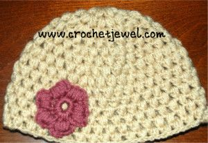 Crochet Puff Stitch Hat with You tube Video  My Crochet You Tube Channel: https://www.youtube.com/user/amray767 If you tell others about my ...