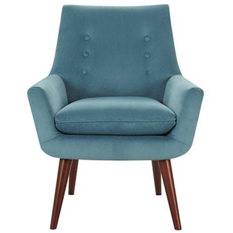 Retro Chair Softy Seafoam