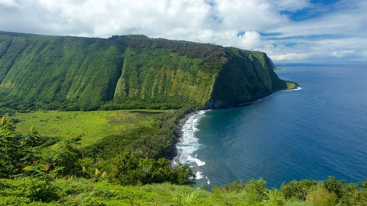 Showing item 64 of 65. Waipio Valley Lookout - Hawaii - Tourism Media