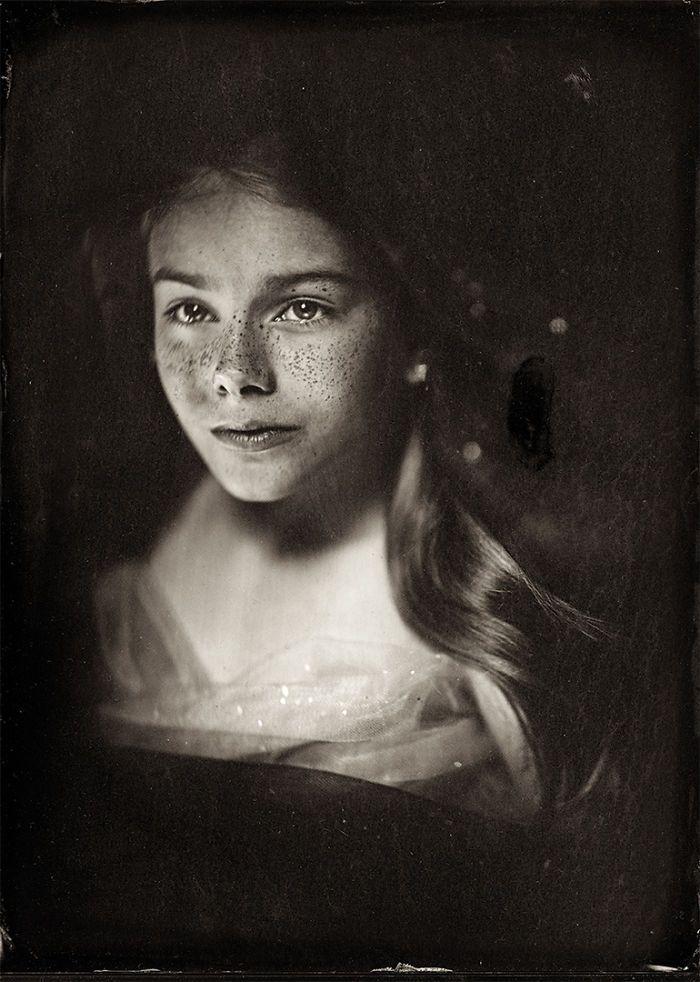 Les photos effrayantes denfants en plaque humide de collodion par Jacqueline Roberts  2Tout2Rien