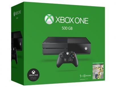 Xbox One 500GB Microsoft 1 Controle - com 1 Jogo Via Download e 1 Mês de EA Access com as melhores condições você encontra no Magazine Tradelux. Confira!