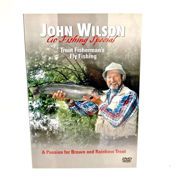 John Wilson Go Fishing Special Trout Fisherman's Fly Fishing DVD Rainbow Brown