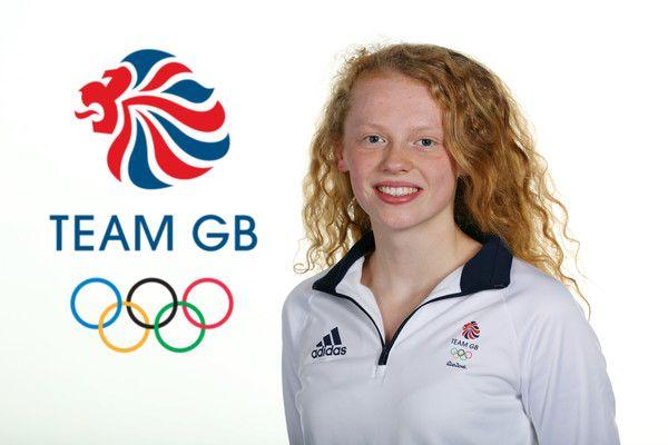Georgia Coates represented Great Britain in the swimming at Rio 2016