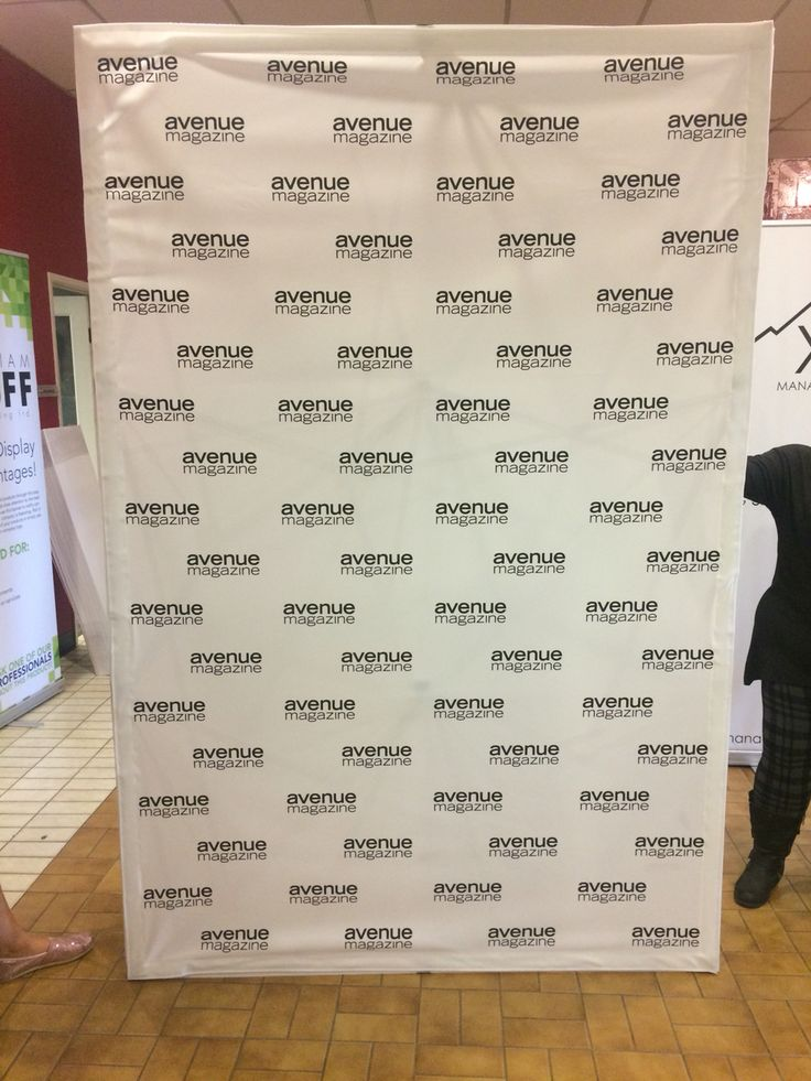 5' x 8' pop up Fabric Wall