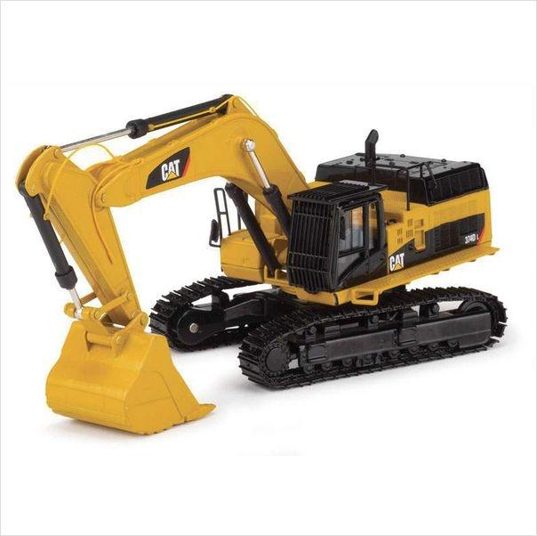 Caterpillar Equipment Toys : Norscot caterpillar dl hydraulic excavator diecast