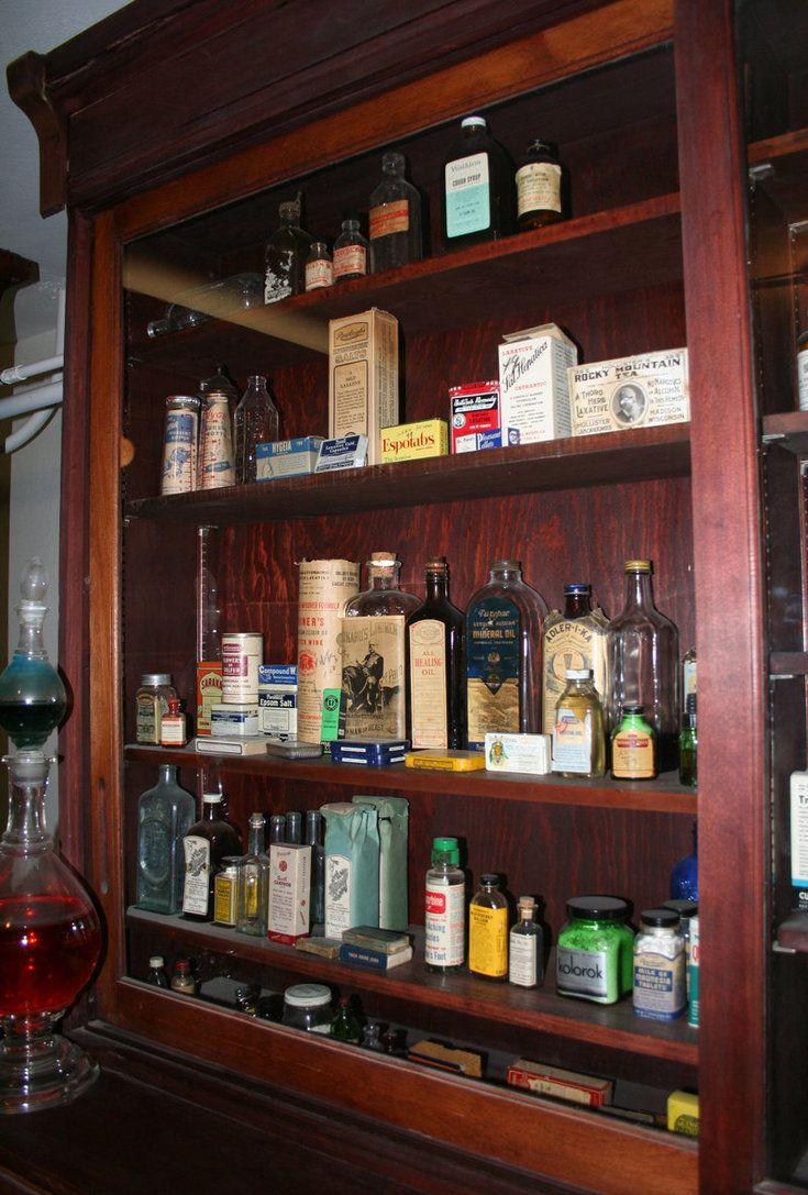 Absolute ethyl alcohol bottle vintage chemical bottle science lab - Old Medical Bottles