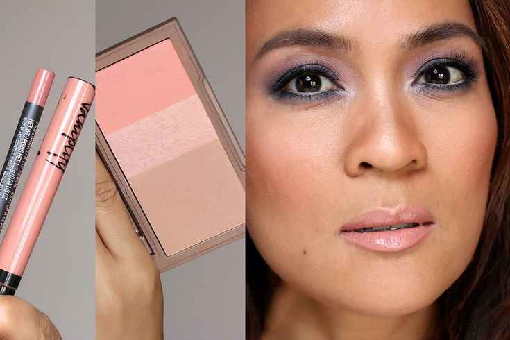 Cocktail party makeup tutorial, step #10: Apply bronzer ...