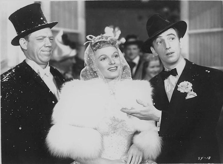 Paul Hartman, Anna Neagle and Ray Bolger in SUNNY (1941)