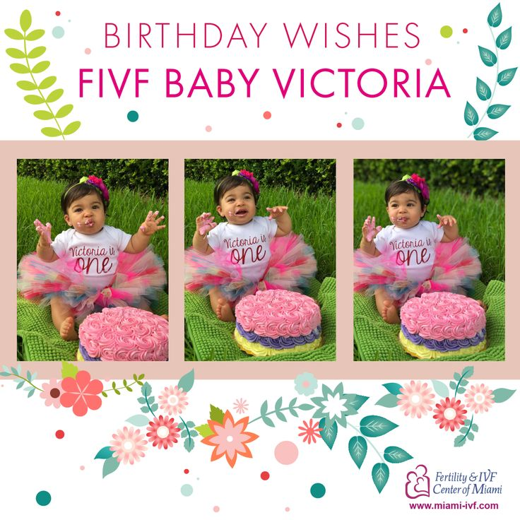 A very happy birthday to our FIVF Baby Victoria! You made your families dreams come true when you were born we wish the same for you! www.miami-ivf.com  #ttcsupport #ttcsisters #ttccommunity #ivf #ttcsuccess #family #prego #pregnant #pregnancy #family #familia #infertility #fertility #throwback #throwbackthursday #tbt #ttc #happbirthday #celebrate #birthday