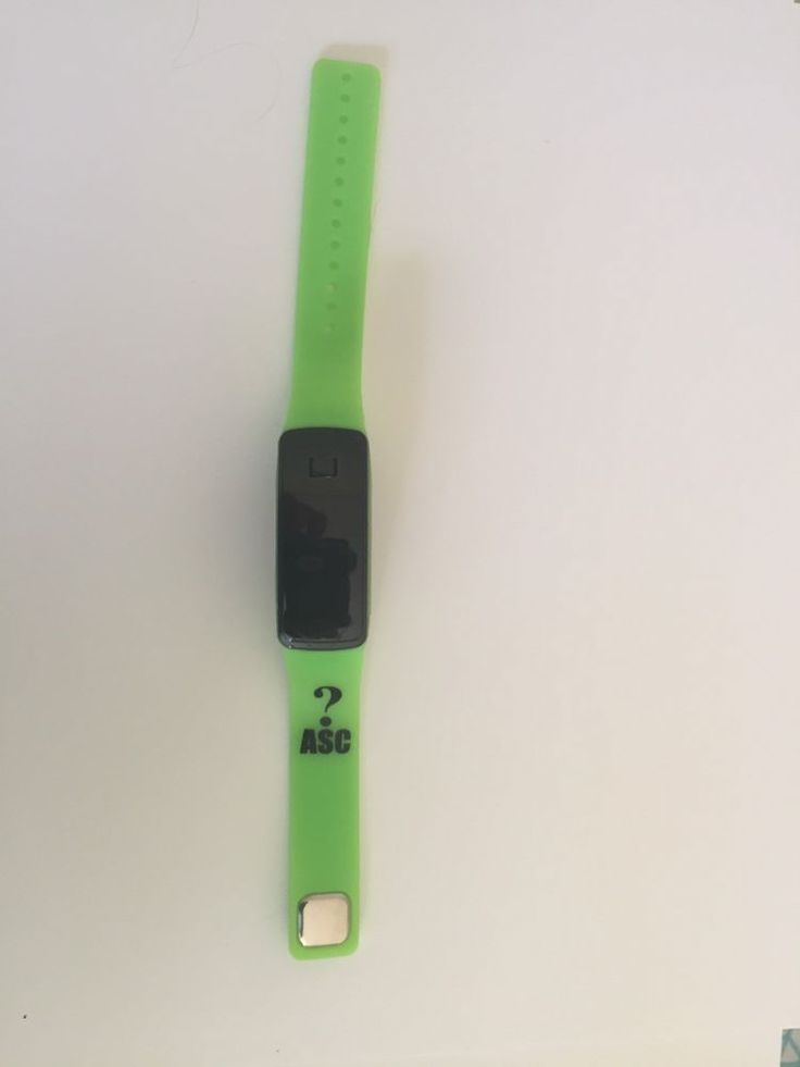 Womens mens kids Silicone Band Touch Screen Sports LED Watch Bracelet Green  | eBay
