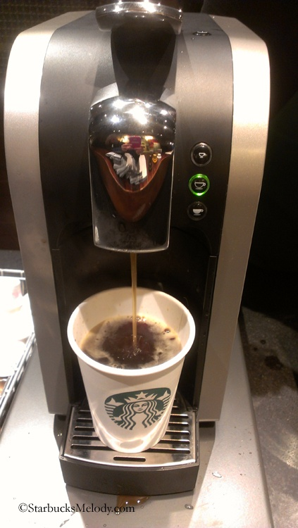 The New Verismo Starbucks Brewing A Cup Of Verona Starbucks #starbucks, #pinsland, #coffee ...