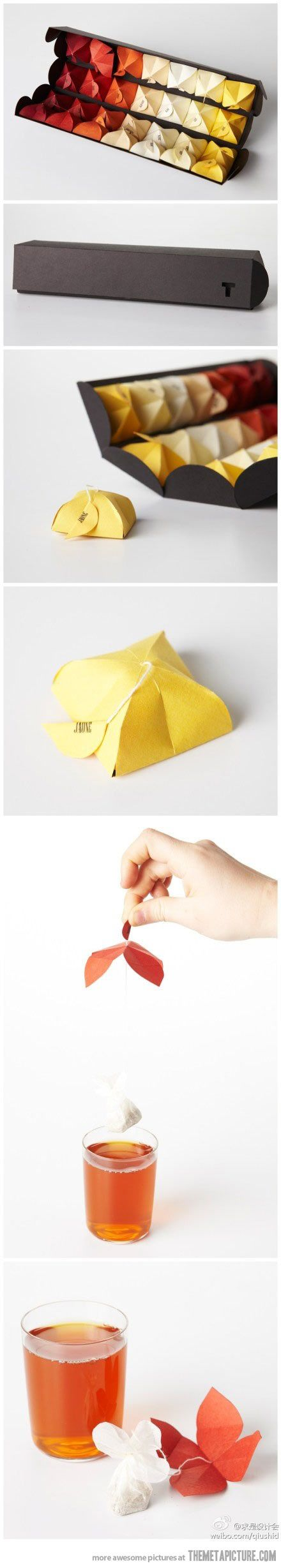 Chinese tea package…