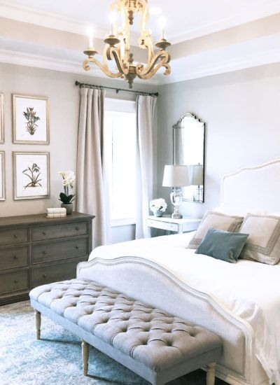 French Chic Bedroom e-Design | Master bedroom in 2019 | Country ...