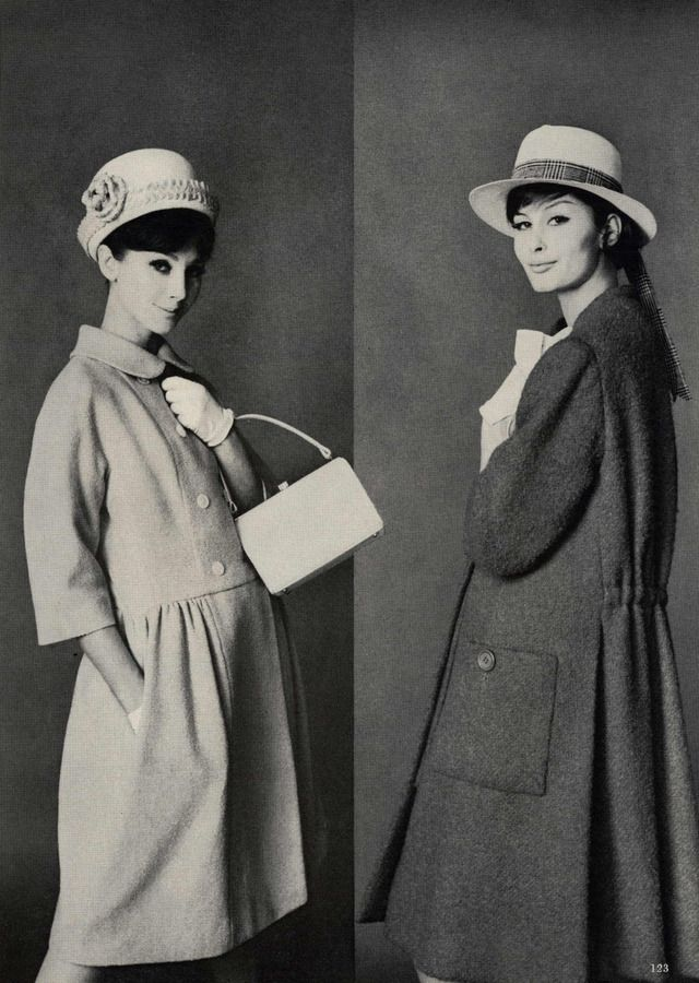 1961- That is totally Sinclair's coat on the right.