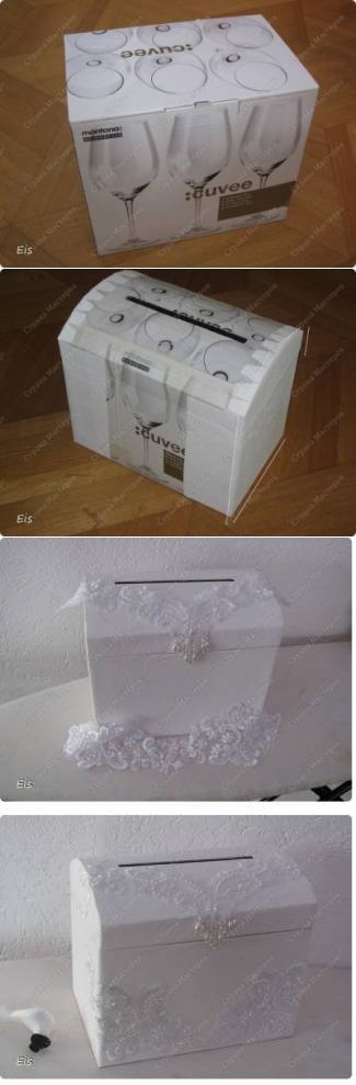Wedding chest for money and cards - Master Class. Step by step guide - Publisher - Wedding with their hands