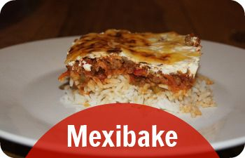 Mexican Recipe - Mexibake is an easy mexican style recipe to cook for the family. Makes a huge dish, great for sharing or lasting for two meals.