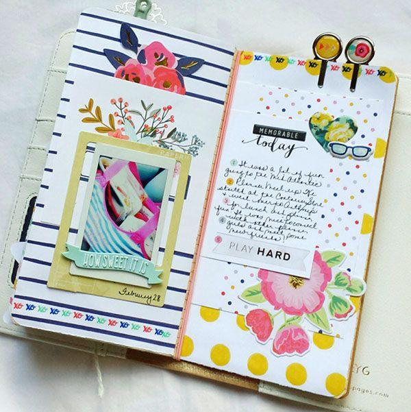 Traveler's Notebook layout                              …