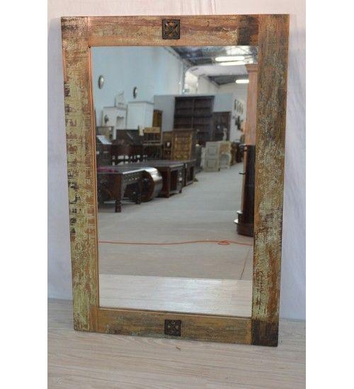 Indyjskie drewniane #lustro wyprodukowano w Indiach Model: HS-18 AGO-003 tylko na 291 zł. Kupuj online @ http://goo.gl/KvYccn