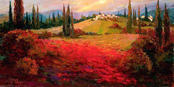Irene Sheri Vishnevskaya, 1968 | Romantic Impressionist painter | Tutt'Art@