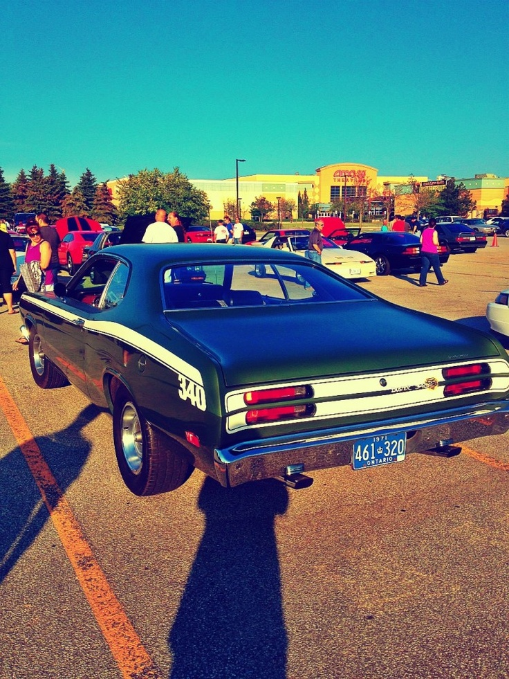 1970 Plymouth Duster 340 Wedge