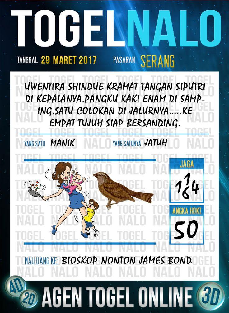 Kode Jitu 6D Togel Wap Online TogelNalo Serang 29 Maret 2017
