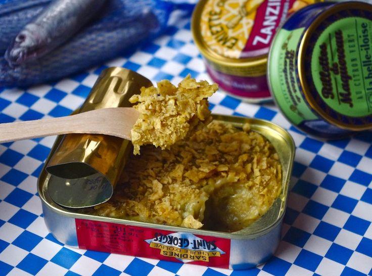 purée croustillante sardines courgettes pomme de terre