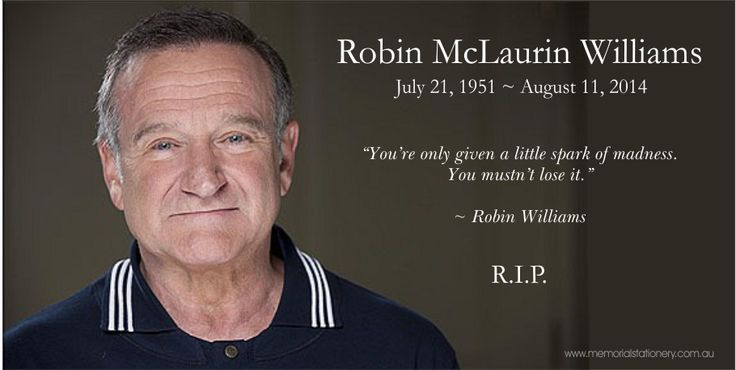 Robin Williams Dies, Aged 63 - http://bit.ly/Vhny4P ...
