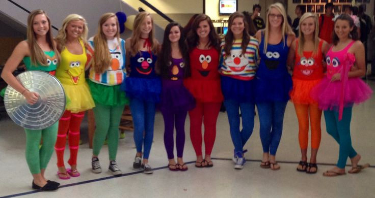 DIY Sesame Street Costumes
