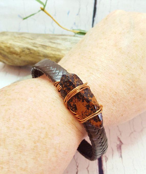 Mens Bracelet  Hipster Energy Bracelet  7th by BlueWorldTreasures