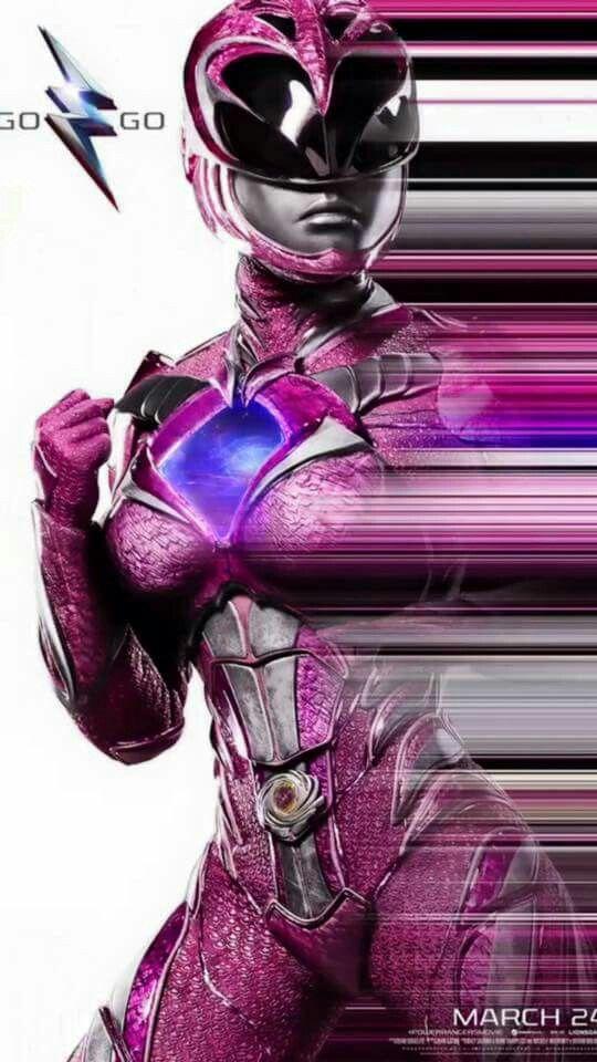 NYCC Pink Ranger poster 2017 movie.