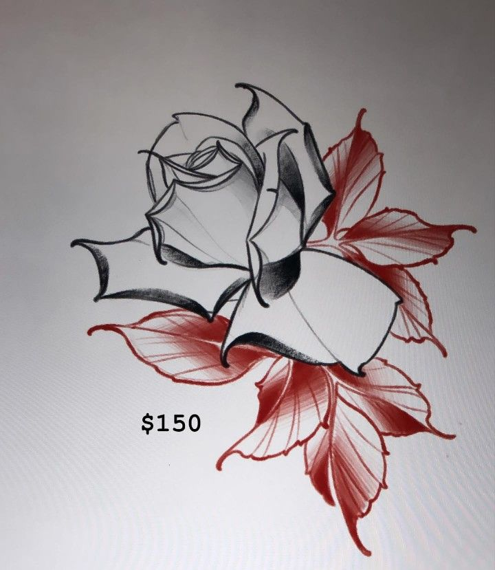 Pin By Joey Stadie On A Neo Traditional Rose Tattoos Neo Traditional Roses Traditional Roses