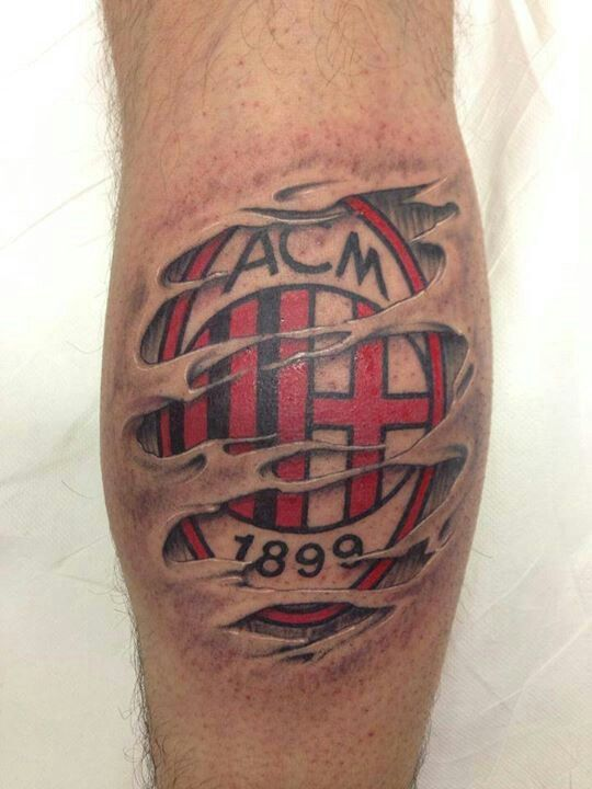 Ac Milan Tattoo