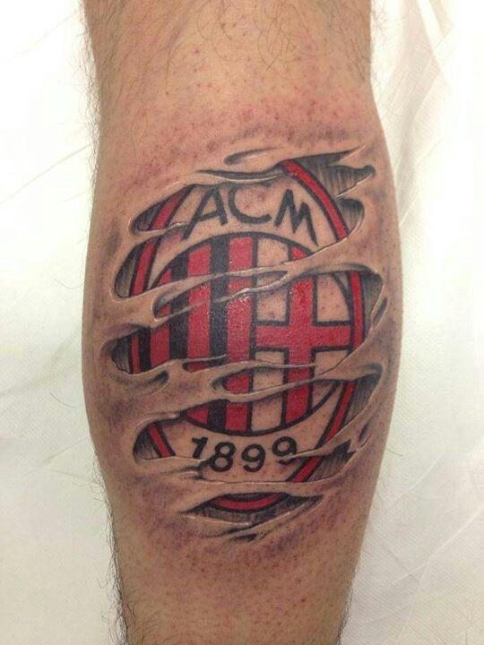 Ac Milan Tattoo