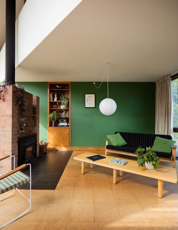 Delight in this Modernist 1960s Messervy House by Allan Mitchener   Architecture InteriorsHouse DesignChristchurch ...