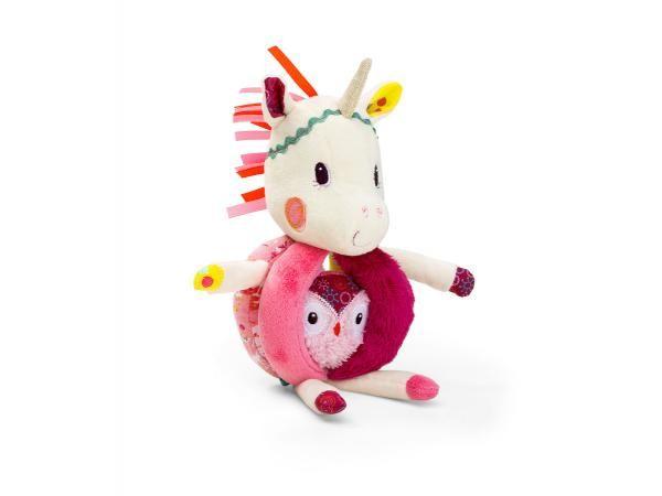Lilliputiens - Hochet à poignée Louise la licorne #lilliputiens #licorne #hochetbebe #cadeauxdenaissance  #cadeauxnoel #bébé  #licorneforever