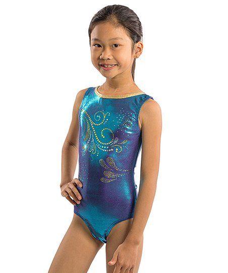 903b743360 Lizatards Blue   Purple Ocean Swirl Leotard - Girls   Juniors ...