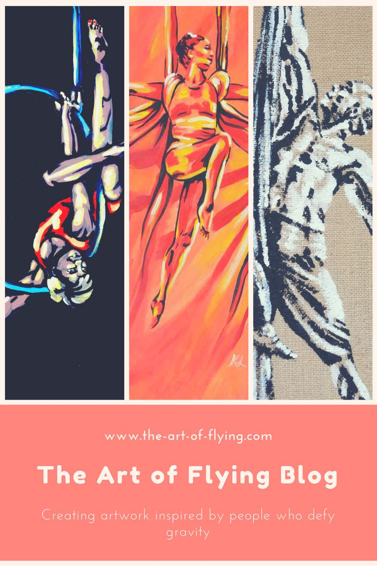 I am a figurative artist creating artwork inspired by people who defy gravity. Like my aerial silks and lyra teachers. Aerial dancers, aerial hoop, trapeze, circus performers, pole dancers and other amazing individuals are featured in each blog post.