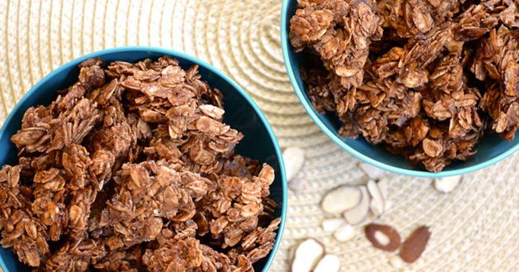 Domácí čokoládové müsli