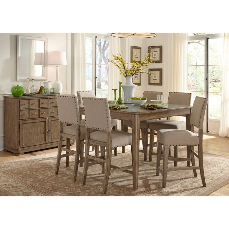Liberty Weatherford Grey Gathering Table (Gray Gathering Table)