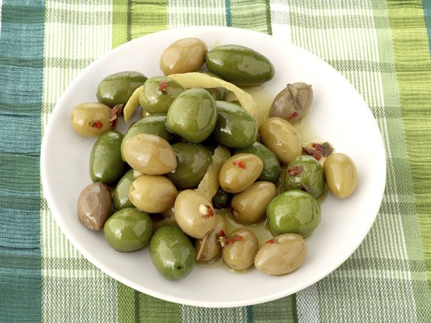 Citrus Marinated Olives Recipe : Alton Brown : Food Network - FoodNetwork.com