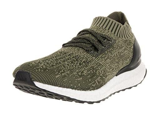 Adidas Men's Ultra Boost Uncaged M Base Green/Core Black Running Shoe 8 Men US