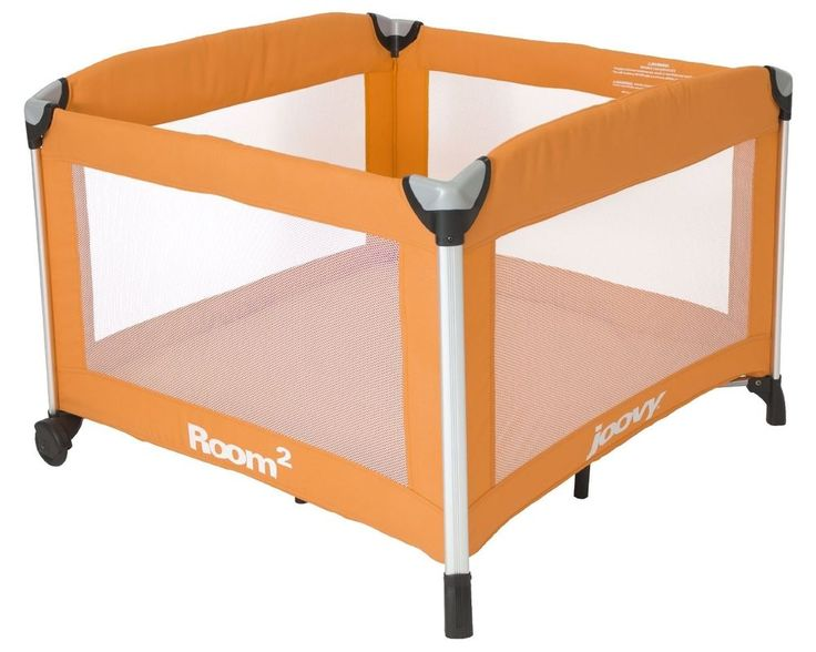 NEW! Joovy Room2 Portable 10 Square Feet Playard with Shoulder Strap (Orangie) #Joovy