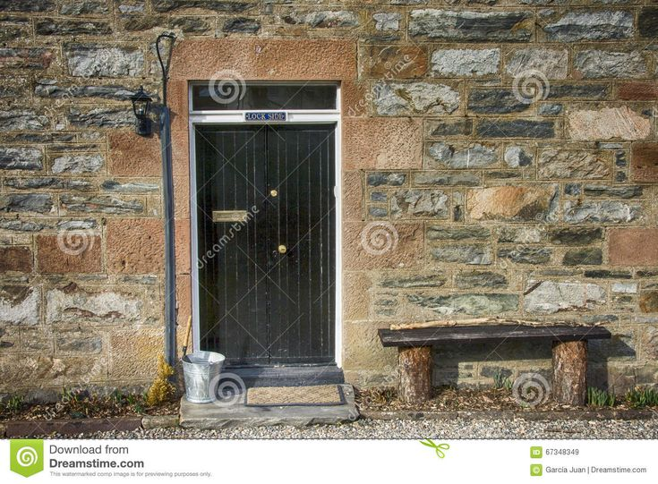 Country House Entry , Highlands Stock Photo - Image: 67348349