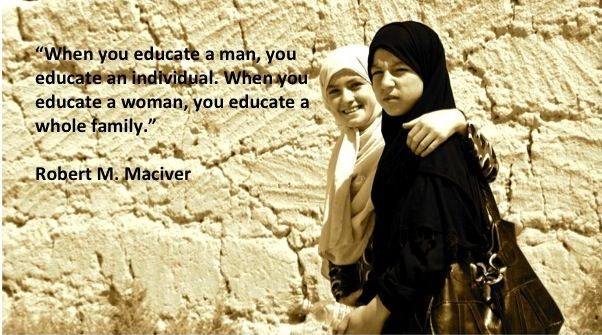 The education of women as a tool in development: challenging the African maxim